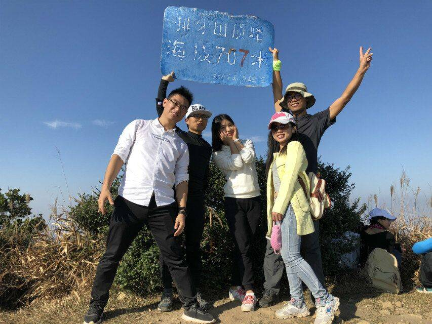 2017.12.10深圳排牙山穿越游记