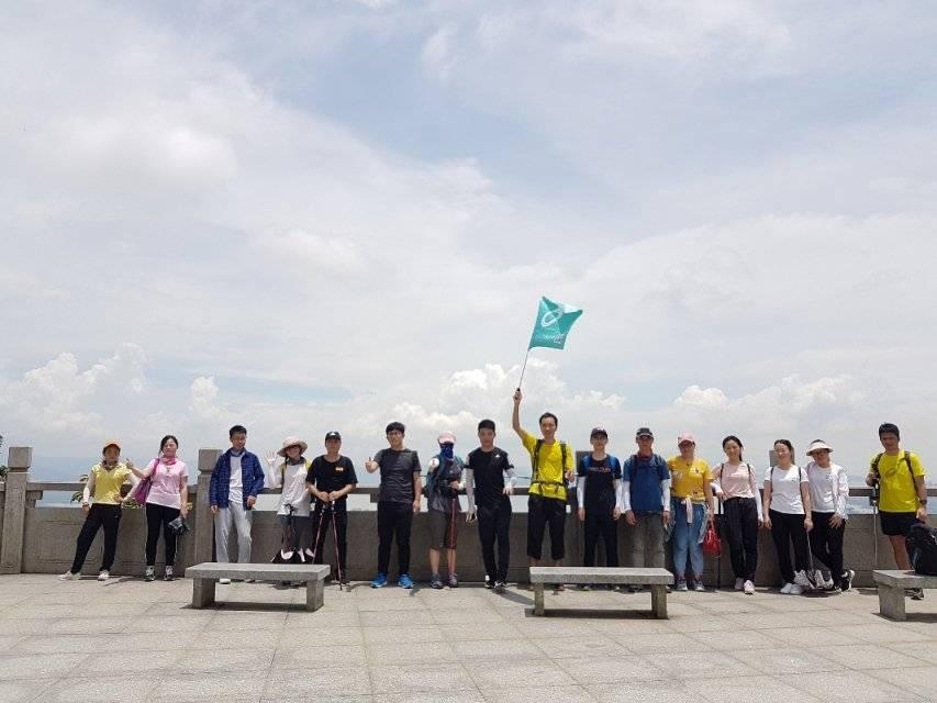 2019.06.30深圳塘朗山穿越梅林水库
