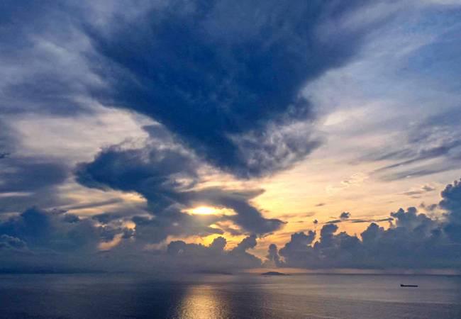五五户外三门岛浪漫之旅、快艇冲浪、海边露营烧烤