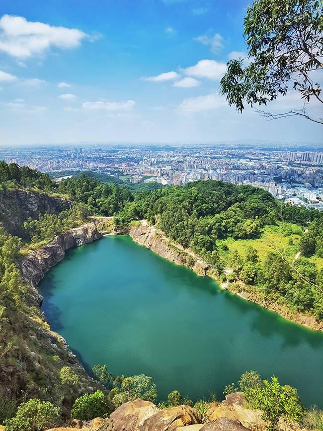 五五户外广州最后一处秘境 六片山穿越