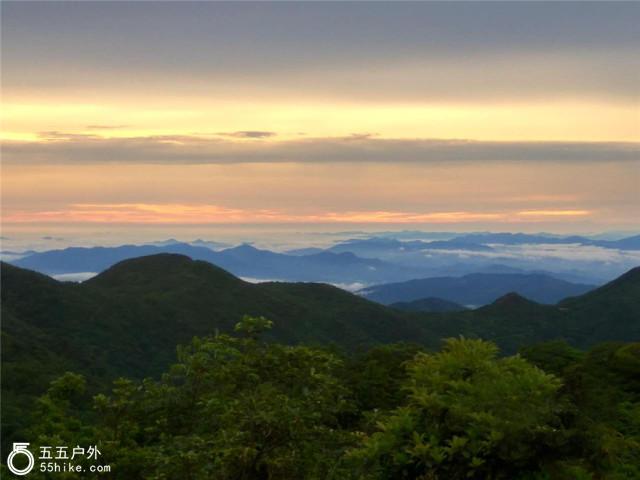 五五户外【黑夜传说】博罗四方山穿越 32个山头挑战