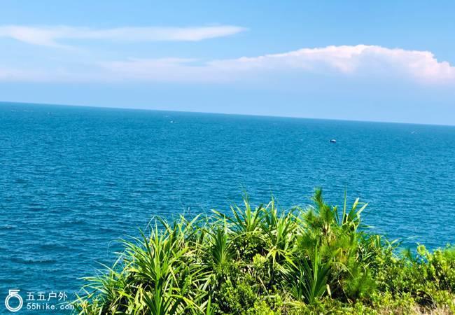 五五户外【双月湾奇景】双月湾海岸线大星山穿越