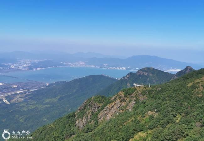 五五户外【深圳第二峰】七娘山小环线9公里穿越