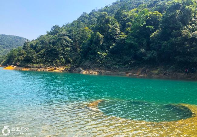 五五户外【碧水怪石】广州增城第一高峰牛牯嶂穿越