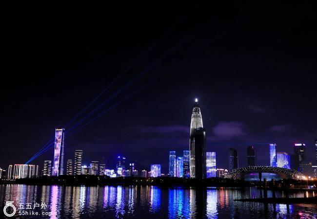 五五户外【每周三夜徒】深圳湾休闲夜徒